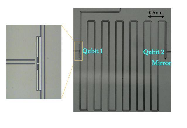 Superconducting quantum-bit chip