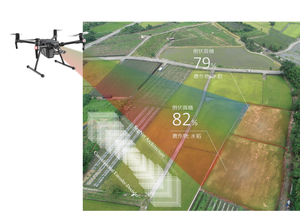 Watching agriculture form the sky — Real-time identification of crop losses using UAV imagery