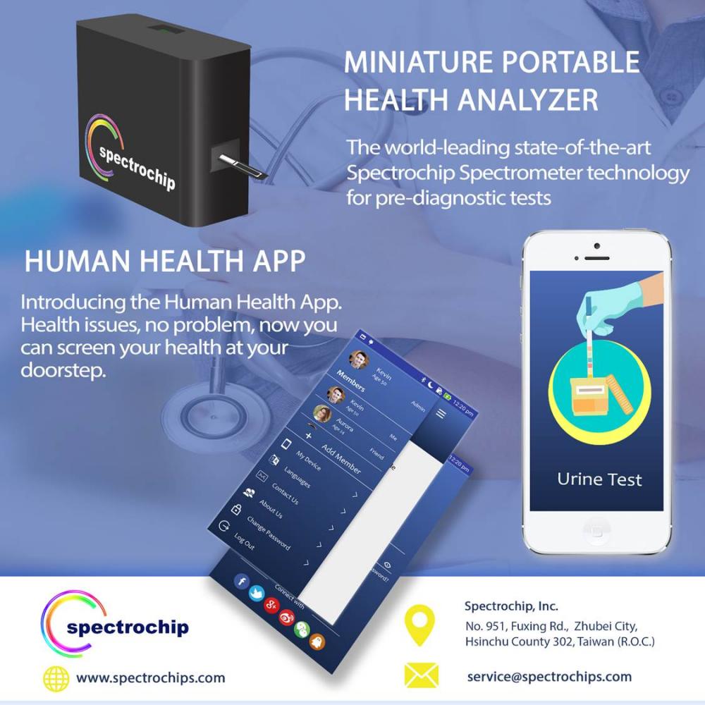 全球首創《光譜晶片》,全方位守護您的健康!