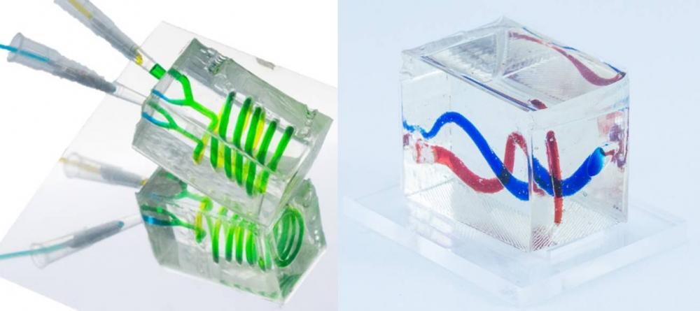 全透明生醫晶片新幫手! 3D列印和超音波輔助製作