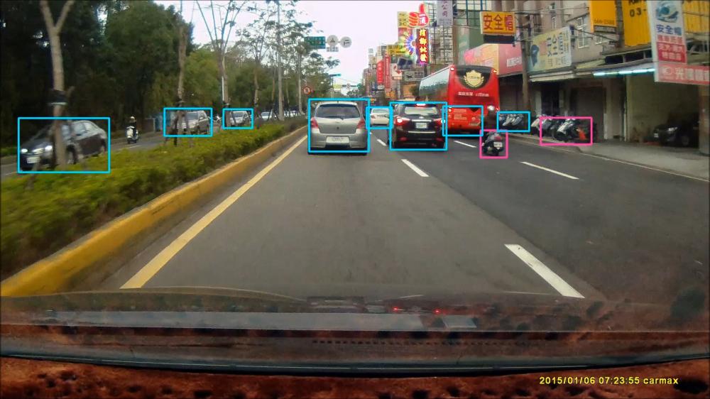 全球首創後方超車預測系統,AI技術大躍進